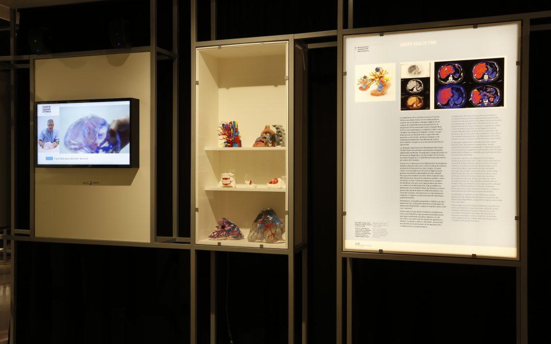 La Unidad de Impresión 3D Médica en la exposición «Ciencia y Tecnología en democracia»