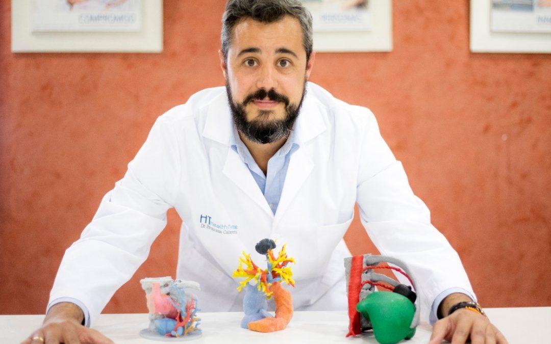 El Dr. Jordi Broncano aborda el uso de la impresión 3D en cirugías cardiotorácicas