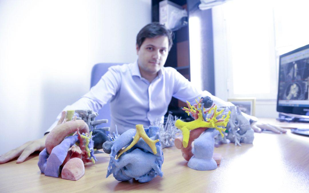 Entrevista a Álvaro Berbís, coordinador de la Unidad 3D Médica de HT